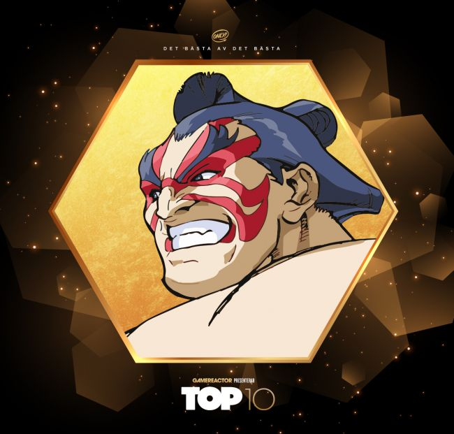 Top 10: Street Fighter-kämpar