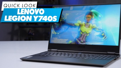 Lenovo Legion Y740S - Quick Look