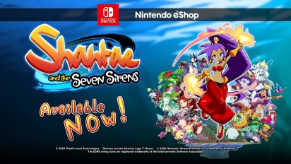 Shantae and the Seven Sirens - Nintendo Switch Launch Trailer