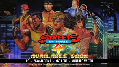Streets of Rage 4 - Retro Reveal