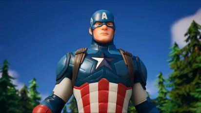 Fortnite - Captain America Arrives Trailer